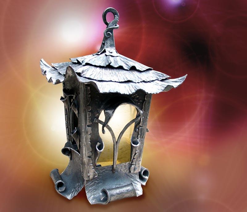 Кованый светильник своими руками из 723
