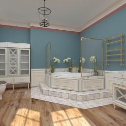 Ванная комната в классическом стиле 2