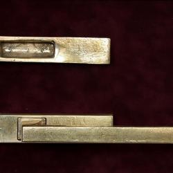 Ручка для окон патио - бронза, ручная работа с лодочкой