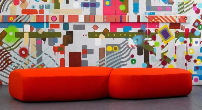Мебель для лобби и лаунжей от французского дизайнера Noé Duchaufour-Lawrance
