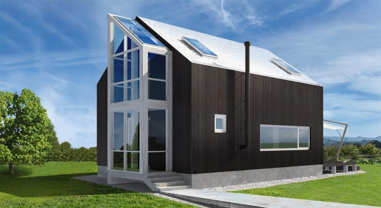 Проект частного дома Ростислава Стефановича