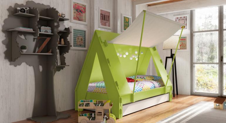 Детские кровати - подход дизайнера.