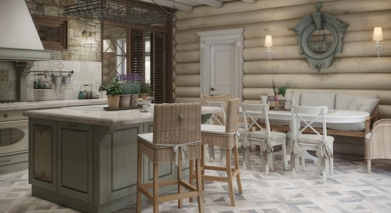 Дизайн интерьера частного дома в п.Зеленое