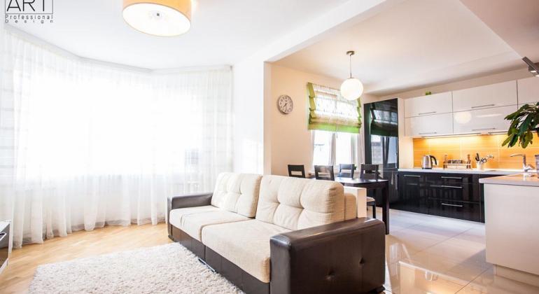 Дизайн интерьера квартиры 80м2 по улице Александрова