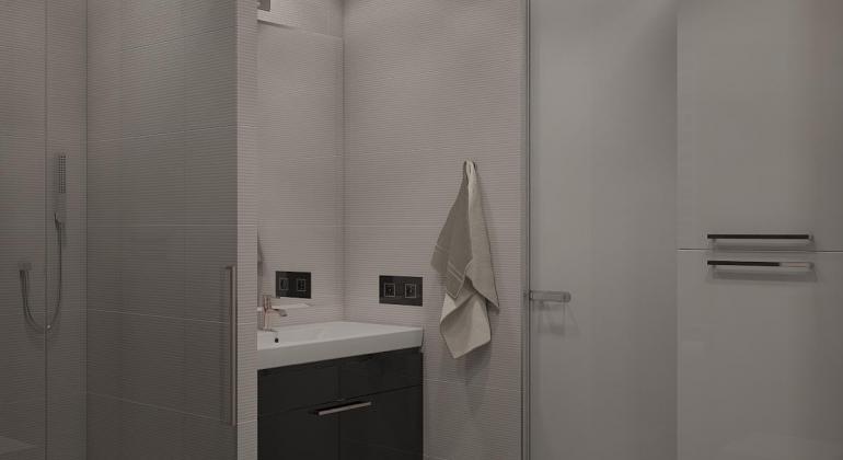 Интерьер ванной комнаты от Apriori Art