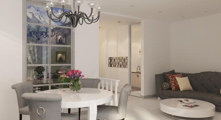 Дизайн интерьера квартиры на Богдановича
