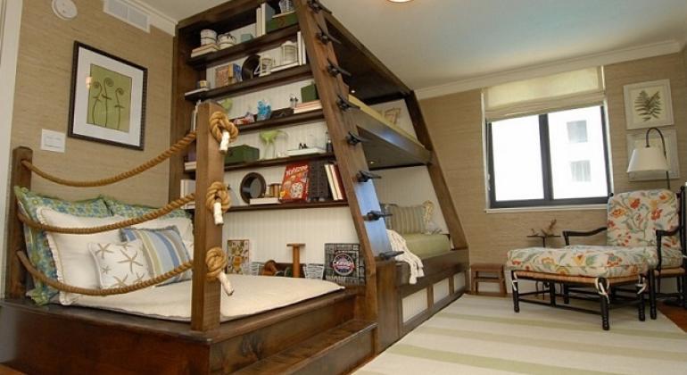 Двухъярусная кровать - концепт