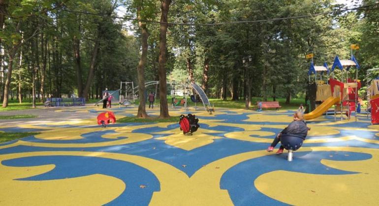 Проект игровых площадок в Останкино