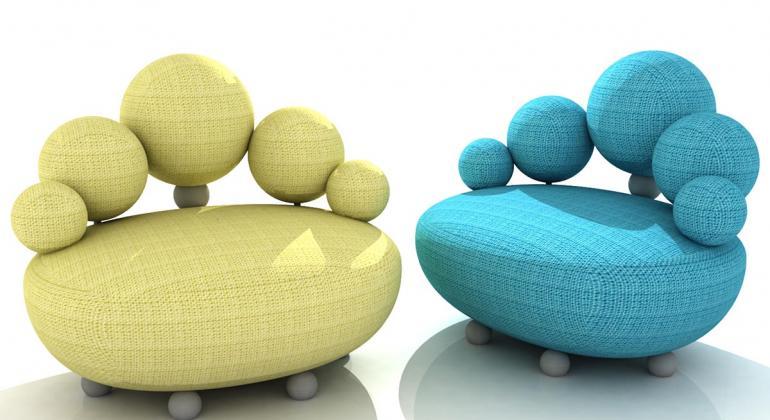 Кресло Ballon от Алеси Бураковой