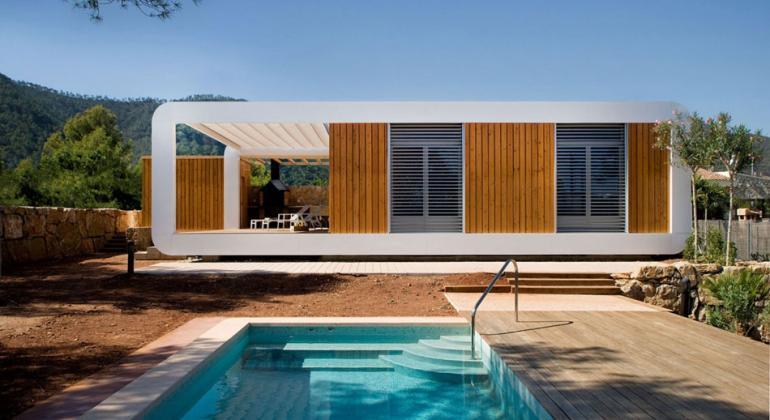 Модульное домостроение в Испании