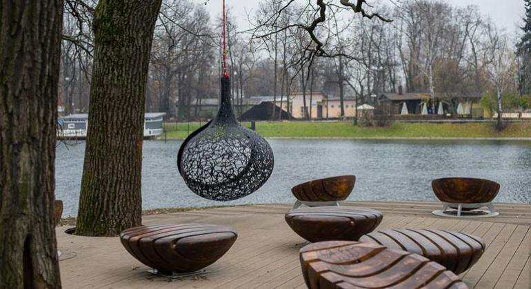 Проектирование парка в Останкино