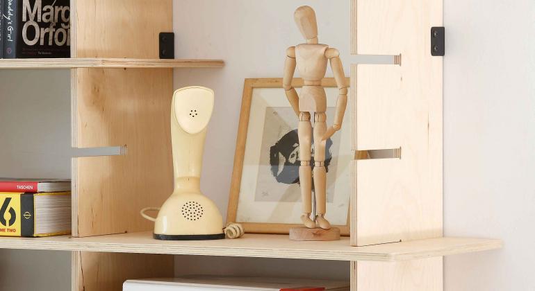 Модульная мебель из березовой фанеры