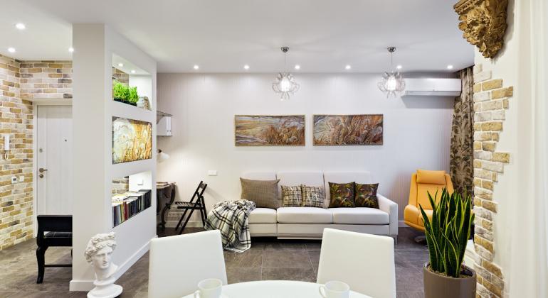 Дизайн проект квартиры - Новый день