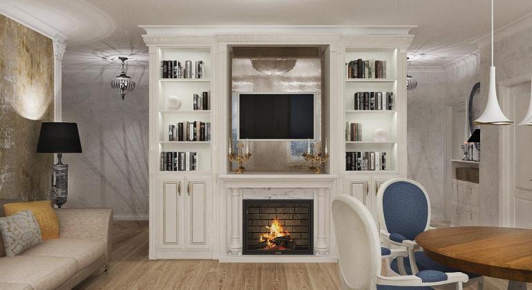 Дизайн проект квартиры - Воспоминание о море
