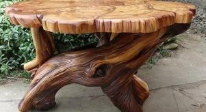 Действительно мебель из дерева