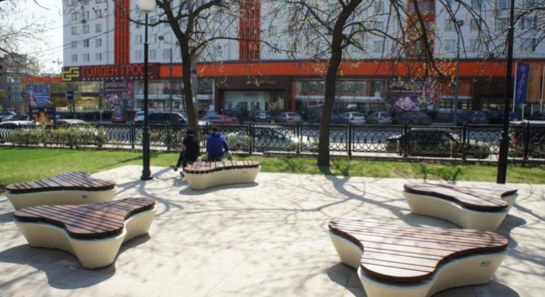 Сквер у Курского вокзала