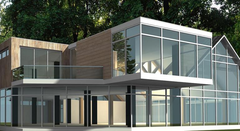 Проект СПА-комплекса на Браславских озёрах.