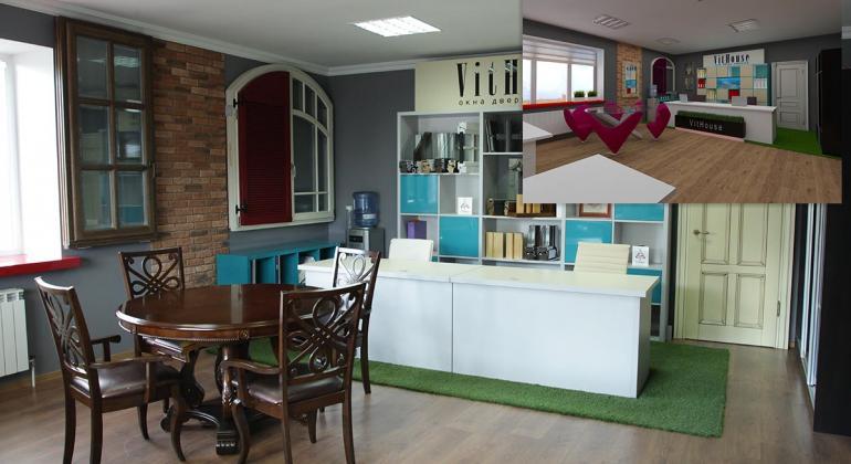 Офис компании ВитХаус 3D модель и реальные фото