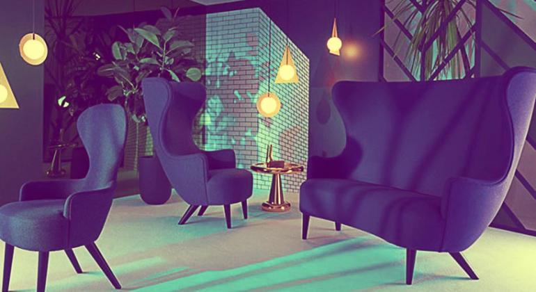 Tom Dixon представил коллекцию мебели Wingback на Лондонском фестивале дизайна